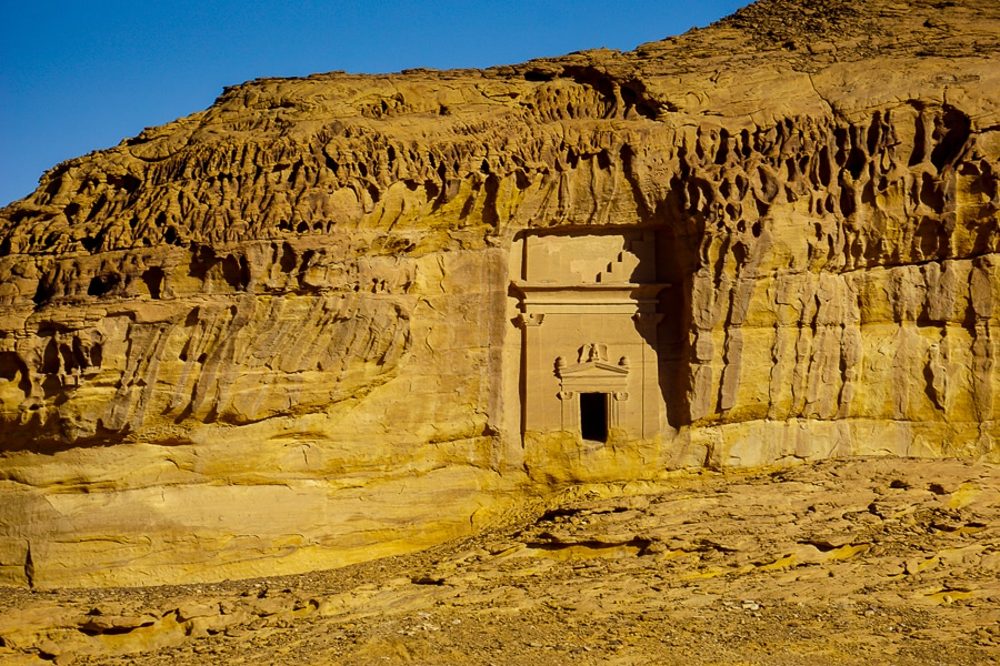 One of the sites at Mada'in Saleh