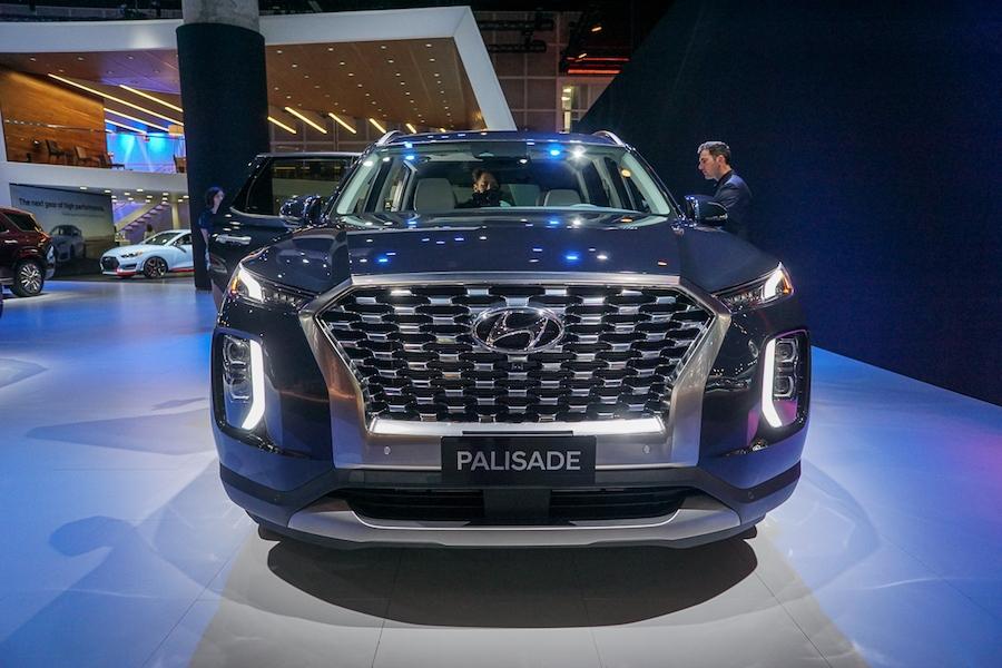 LA Auto Show-Hyundai Palisade