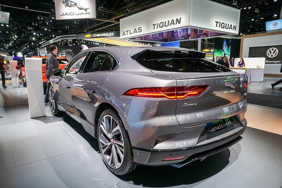 LA Auto Show - Jaguar I-Pace