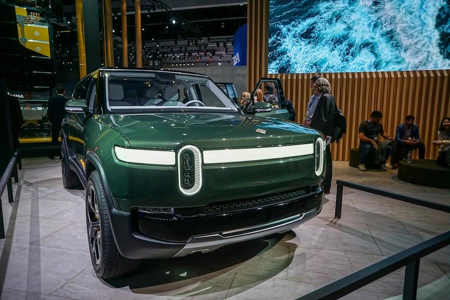 LA Auto Show-Rivian R1S front