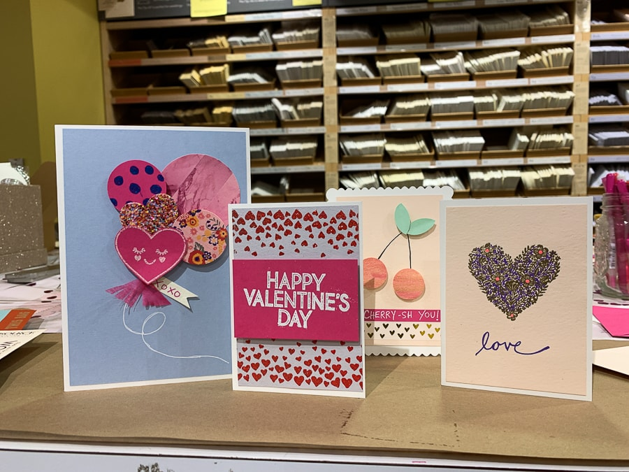Valentine's Day cards from Paper Source