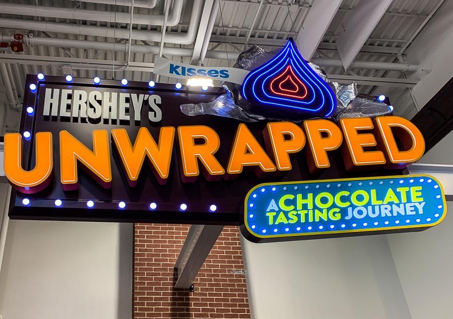 Hershey's Unwrapped Chocolate Tasting Journey