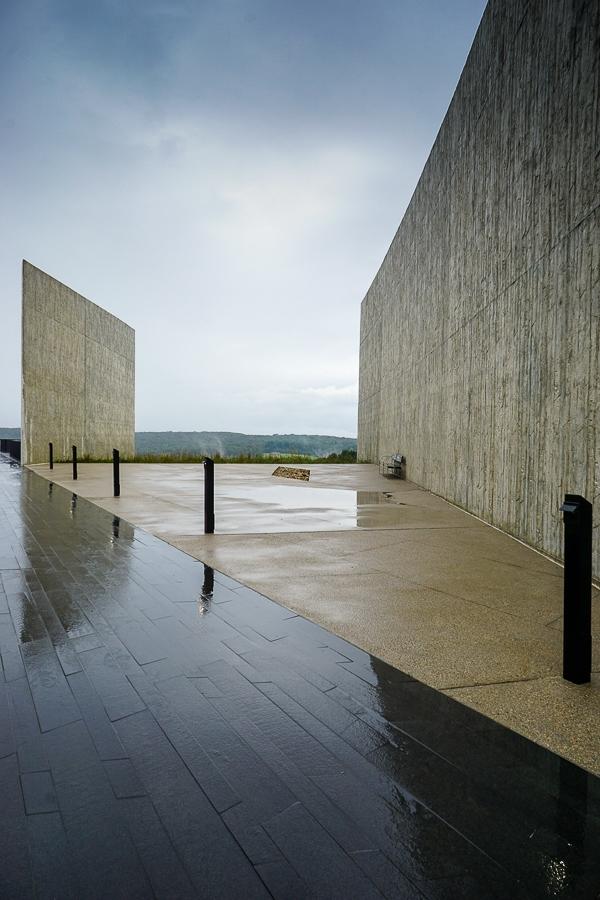 Flight 93 National Memorial granite walkway