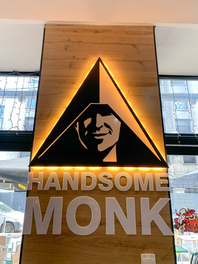 Handsome Monk coffee shop