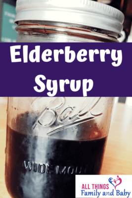 how to make elderberry syrup at home