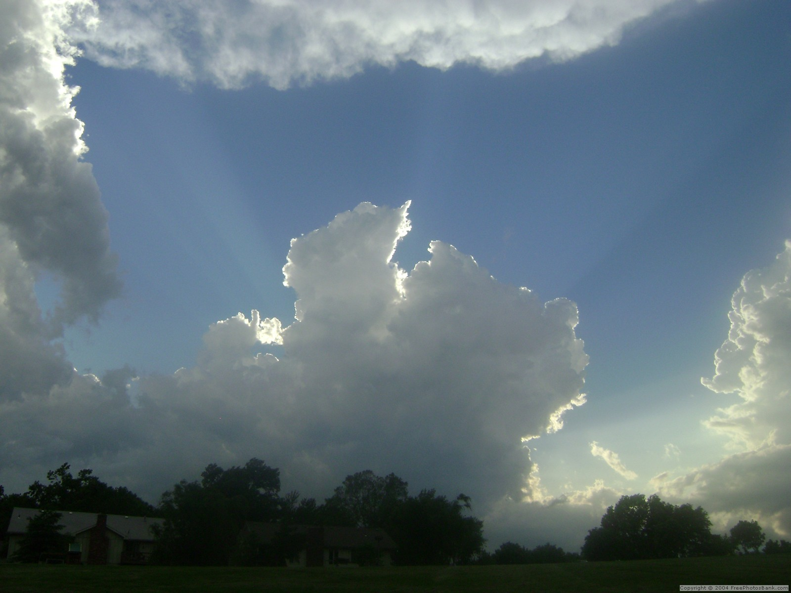heavy thunderheads storms