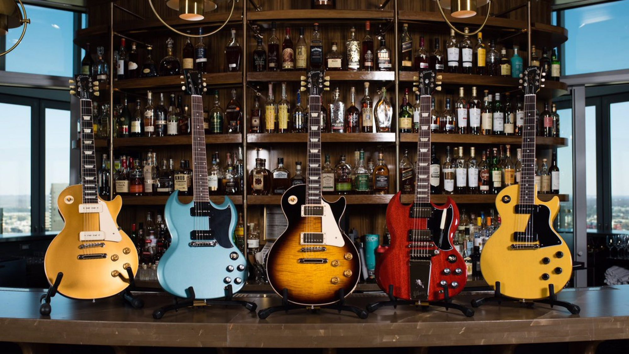 hight resolution of gibson guitars