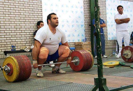 Behdad Salimi 260kg Clean and Jerk