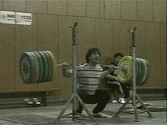 Galabin Boevski 250kg Back Squat
