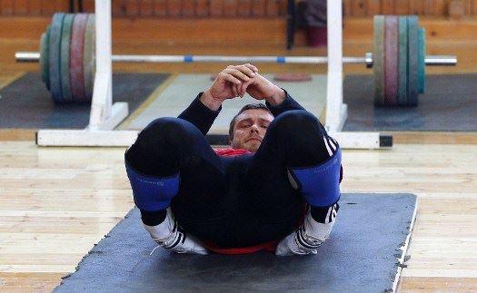 Dmitry Klokov Ankle Stretch Tibialis Anterior