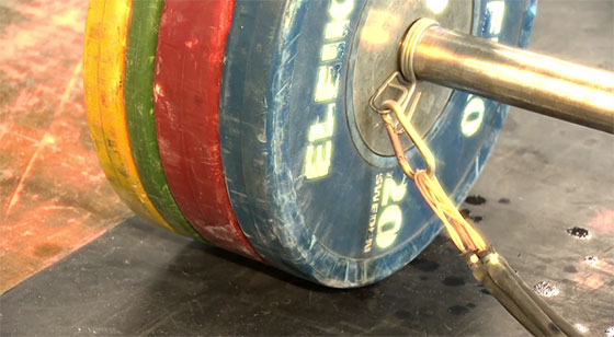 Snatch High Pulls with Rubber Bands