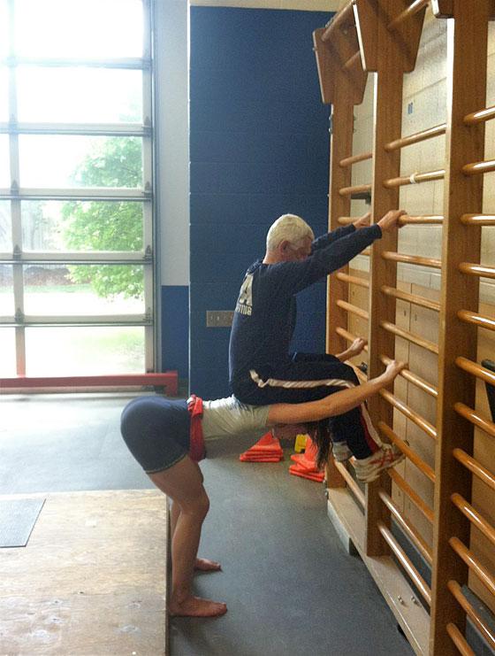 Zygmunt Smalcerz Jessica Gallagher Shoulder Girdle Stretch