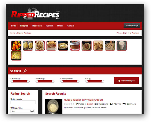 Ripped Recipes
