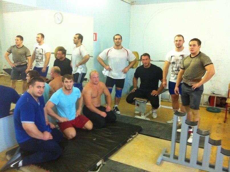 Russian Weightlifting Team 2013 Staircase Block