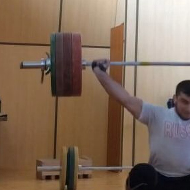 adam maligov 195kg snatch