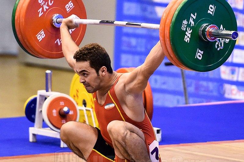 Jaber Behrozi 145kg Snatch ATG