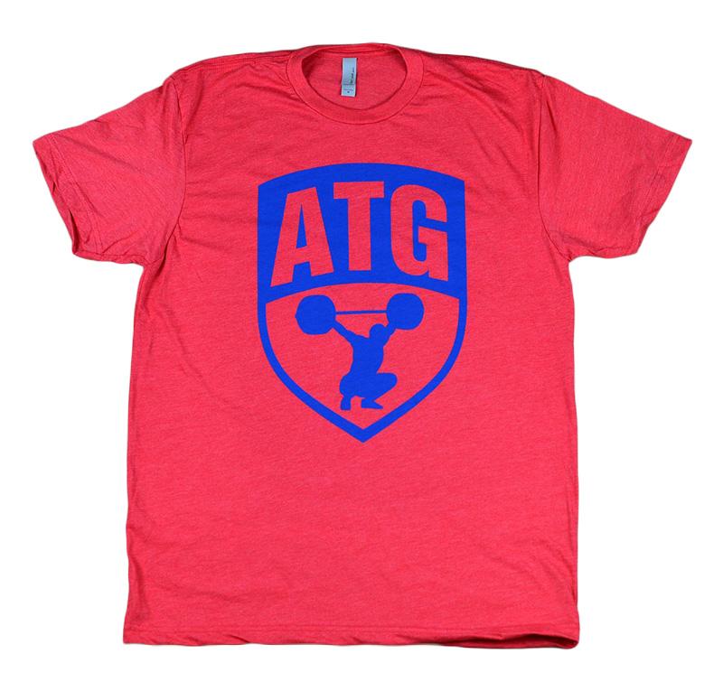 ATG Red Blue Shirt