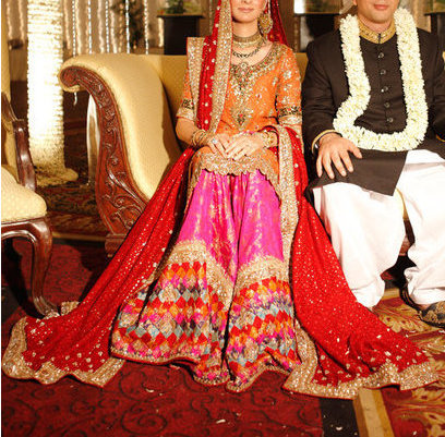gharara  All things Karachi Weddings