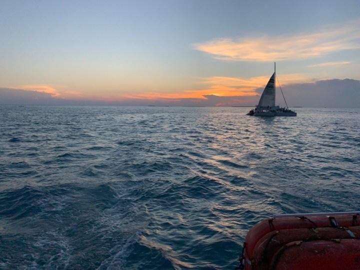 Sunset Cruise after snorkeling - Key West Florida