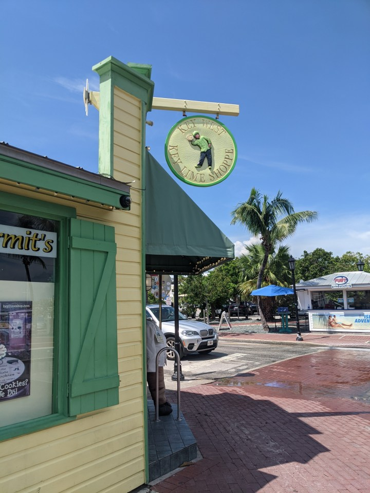 Things to do in Key West - eat key lime pie.