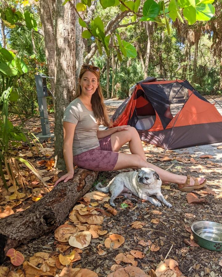 Camping at Fort De Soto