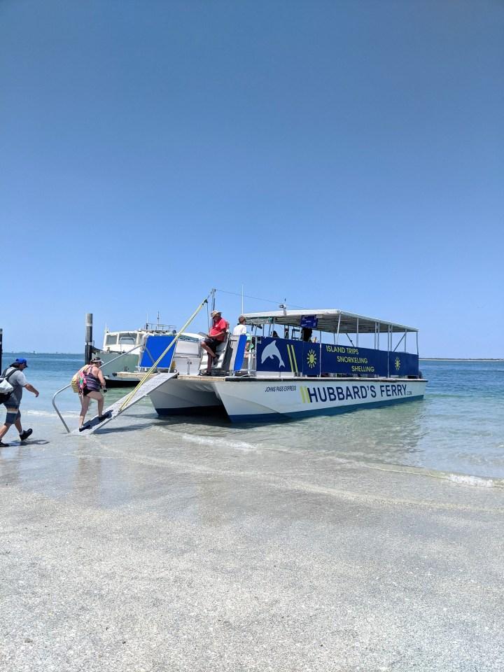 Ferry to Egmont Key