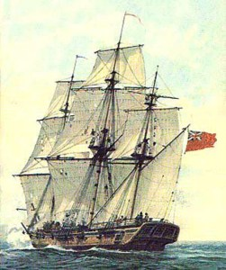 Example British sloop-of-war