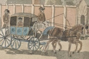 Detail of a watercolor by Thomas Sandby, c. 1760.
