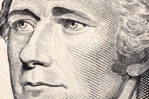Close-up of Alexander Hamilton as he appears on the $10 bill. (Janusz Pieńkowski   Dreamstime)