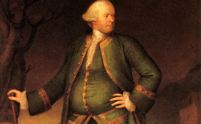 A 1768 painting of Pascal Paoli by Henry Benbridge. (Fine Arts Museum of San Francisco)