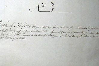 First page of the Book of Negroes (National Archives and Records Administration, Washington, DC)