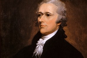 Portrait of Alexander Hamilton by John Trumbull, 1806 (Washington University Law School)