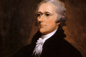 Portrait of Alexander Hamilton by John Trumbull, 1806 (Washington University Law School)