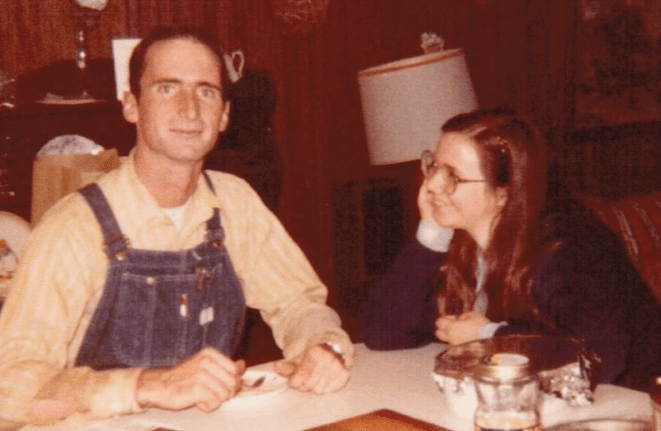 Greg MacLiver and his Wife Wilma during their engagement