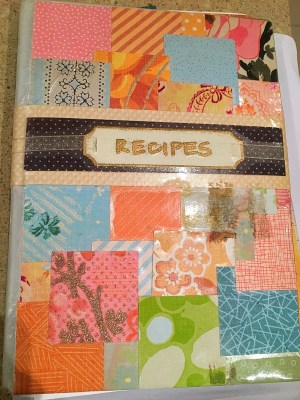 one day I will... organise my recipe book