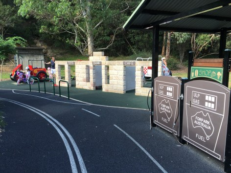 trike path playground and picnic spot in cremone sydney's lower north shore