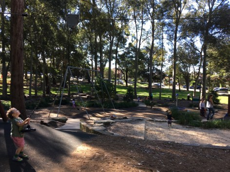 Hammond Playground in Beauchamp Park, Chatswood