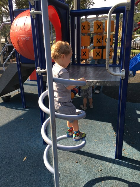 Playgrounds around Narrabeen Lakes