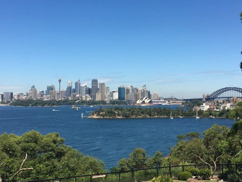 Taronga views of Sydney