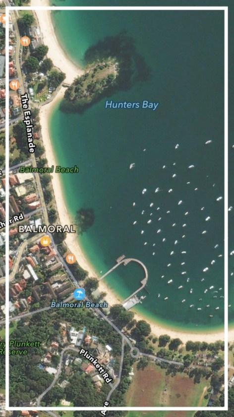 where is balmoral beach