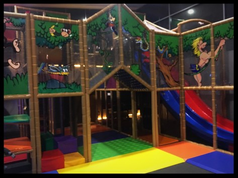 Play areas at the Belrose Hotel
