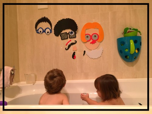 Meadow Kids Silly Faces Bath Stickers
