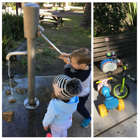 The New Hallstrom Park Playground and Cycleway, Willoughby
