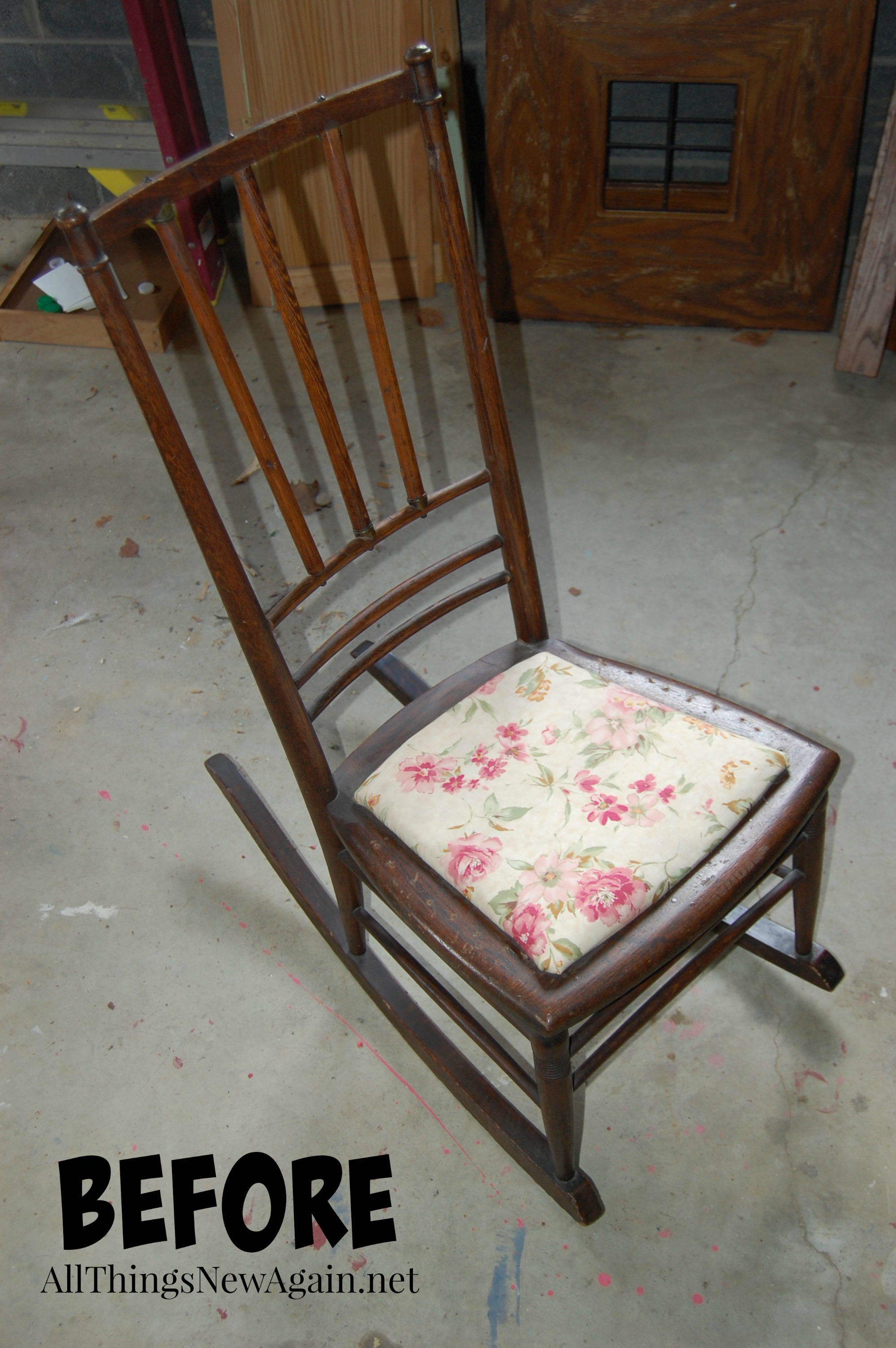 a chair for my mother mat walmart mothers day rocking surprise all things new again