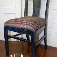 A Chair Affair How To Make Princess At All Things New Again