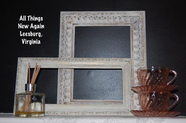 What to do with cheap gold picture frames | Elegant Home Decor | Frames | Decorating Ideas | All Things New Again