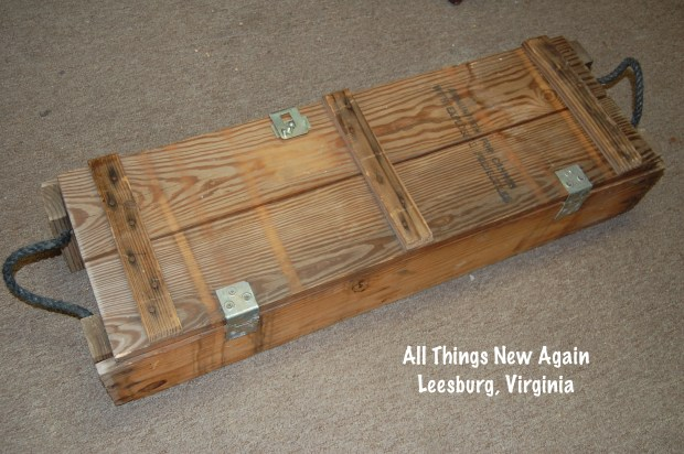 Army artillery box | Repurposed furniture | Up cycle project