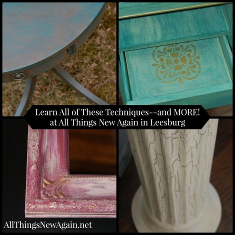 Learn-How-To-Paint-Furniture-All Things New Again-Leesburg Virginia-www.AllThingsNewAgain.net