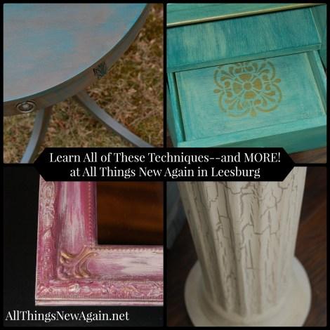 Learn-How-To-Paint-Furniture-All Things New Again-Leesburg Virginia-www.AllThingsNewAgain.net