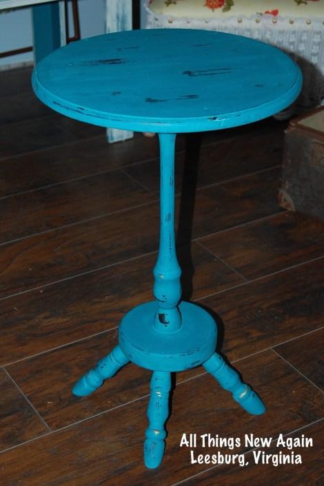 little turquoise table_AllThingsNewAgain